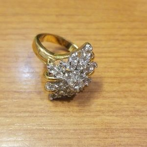 Vintage EDCO cocktail ring